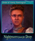 Nightmares from the Deep The Cursed Heart Card 5