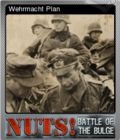 Nuts! The Battle of the Bulge Foil 6