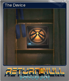 Return NULL - Episode 1 Foil 1