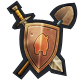 Villagers and Heroes Badge 4