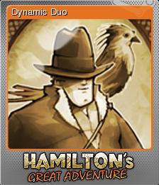 Hamilton's Great Adventure Foil 7