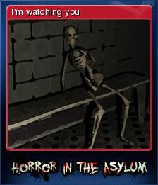 Horror in the Asylum Card 4