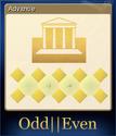 Odd Even Card 4