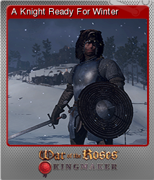 War of the Roses Kingmaker Foil 1