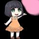 A Little Lily Princess Badge Foil