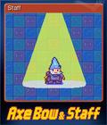 Axe, Bow & Staff Card 3