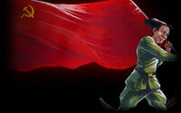 Red Comrades Save the Galaxy Reloaded Background Pete