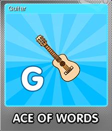 Ace Of Words Foil 7