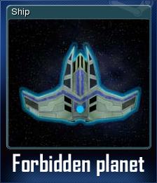 Forbidden planet Card 5