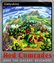 Red Comrades Save the Galaxy Reloaded Foil 1