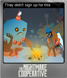 The Nightmare Cooperative Foil 05