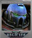 Warhammer 40,000 Regicide Foil 10