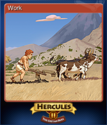 12 Labours of Hercules II The Cretan Bull Card 1