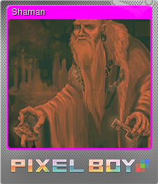 Pixel Boy Card 04 Foil