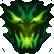 Chainsaw Warrior Emoticon darkness
