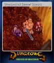 Dungeons The Eye of Draconus Card 3