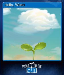Reach for the Sun Card 5