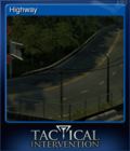 Tactical Intervention Card 08