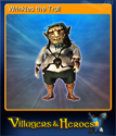 Villagers and Heroes Card 04