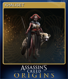 Assassin S Creed Origins Khaliset Steam Trading Cards Wiki Fandom