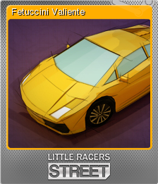 Little Racers STREET Foil 06