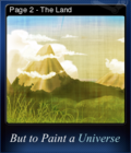 But to Paint a Universe Card 06
