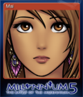 Millennium 5 - The Battle of the Millennium Card 1
