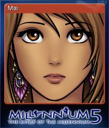 Millennium 5 - The Battle of the Millennium Card 1