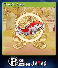 Pixel Puzzles Japan Card 02