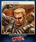 Chainsaw Warrior Card 1