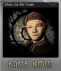 Face Noir Foil 5