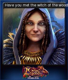 Grim Legends The Forsaken Bride Card 4