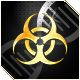 Plague Inc Evolved Badge Foil