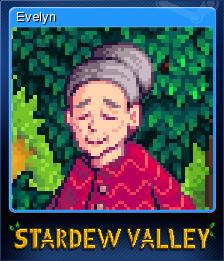 Stardew Valley - Evelyn | Steam Trading Cards Wiki | FANDOM powered