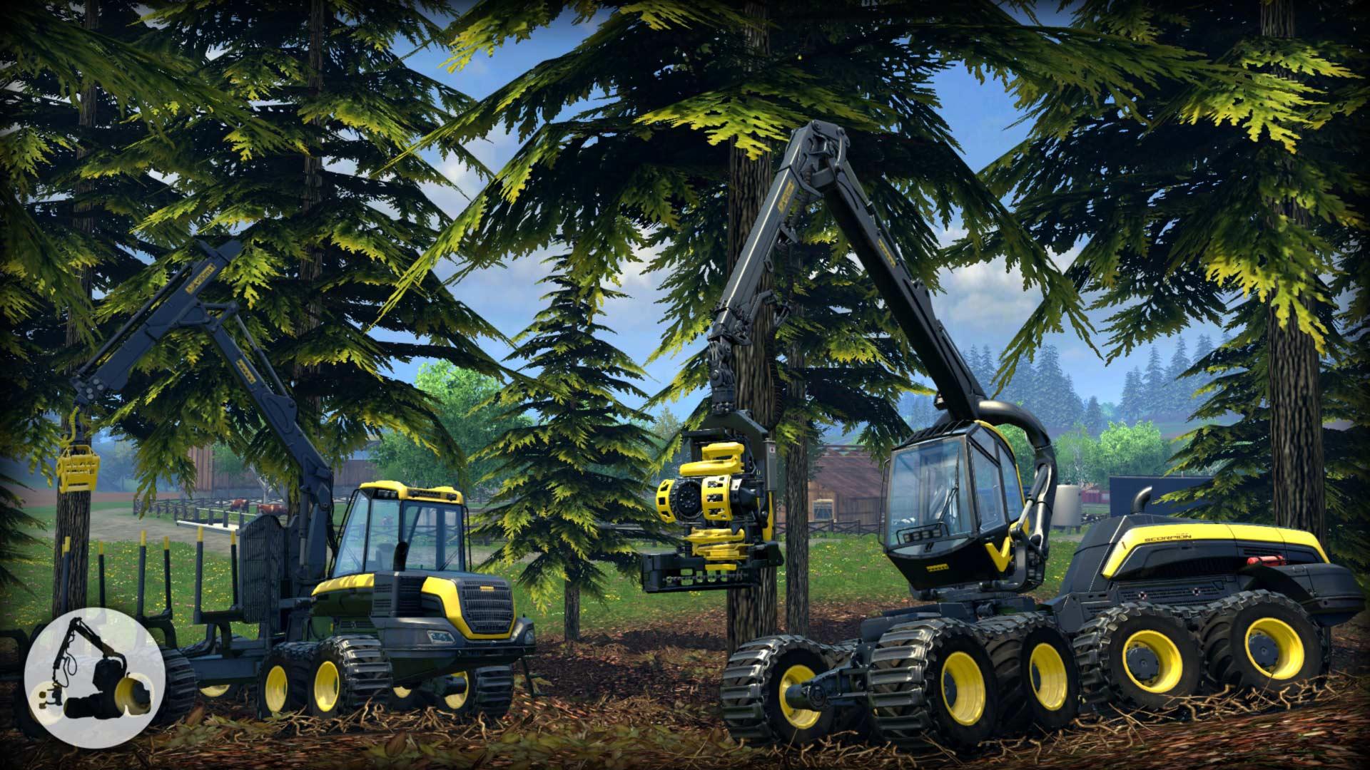Farming Simulator 15 - Ponsse Scorpionking | Steam Trading Cards