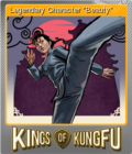 Kings of Kung Fu Foil 6