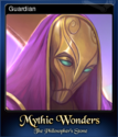 Mythic Wonders The Philosopher's Stone Card 2