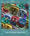 Steam Awards 2019 Foil 3