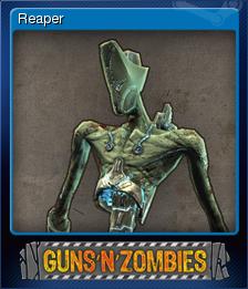 Guns n Zombies Card 4