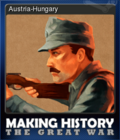 Making History The Great War Card 2