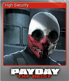PAYDAY The Heist Foil 3