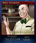 Shadows on the Vatican Act I Greed Card 2