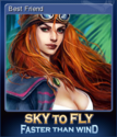 Sky To Fly Faster Than Wind Card 3