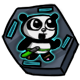 Super Panda Adventures Badge 4