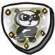 Super Panda Adventures Badge Foil Panda of Awesomeness