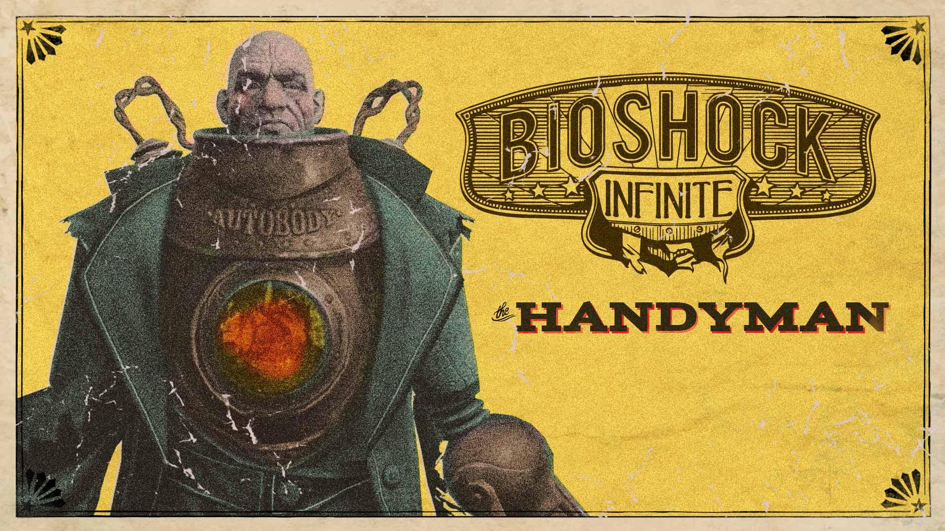 Bioshock infinite handyman steam trading cards wiki - Bioshock wikia ...