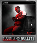 Blues and Bullets Foil 6