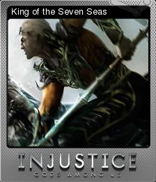 Injustice Gods Among Us Foil 7