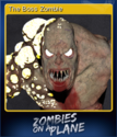 Zombies on a Plane Card 1