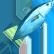 Ace of Seafood Emoticon Maguro